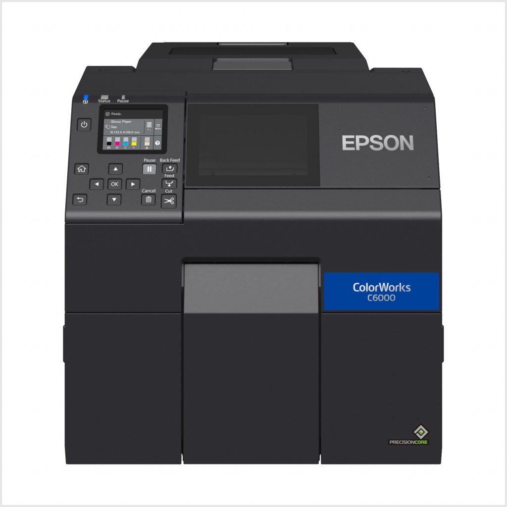 Epson Cw-C6000Ae Renkli Barkod Yazıcı Fiyatı