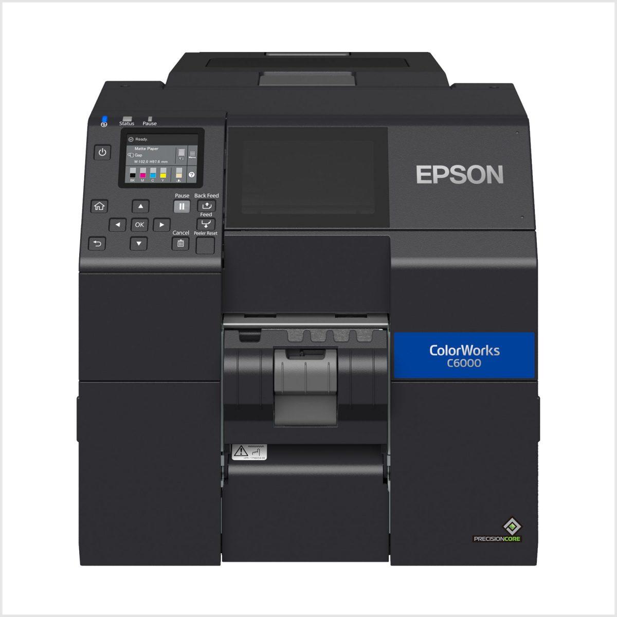 Epson Cw-C6000Pe Renkli Barkod Yazıcı Fiyatı
