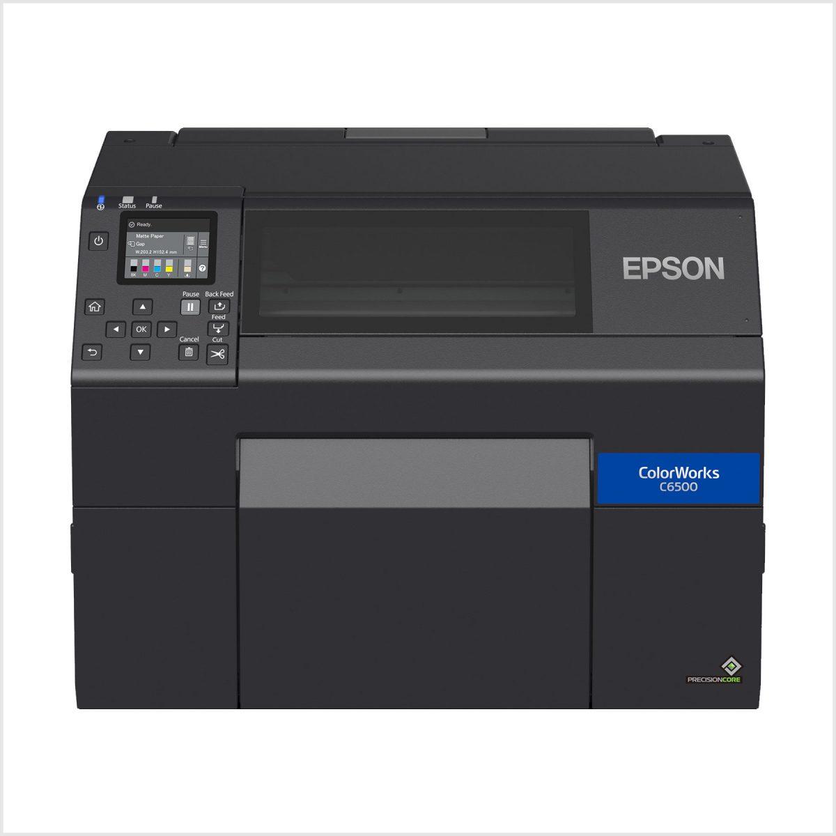 Epson Colorworks Cw-C6500Ae Renkli Barkod Yazıcı Fiyatı
