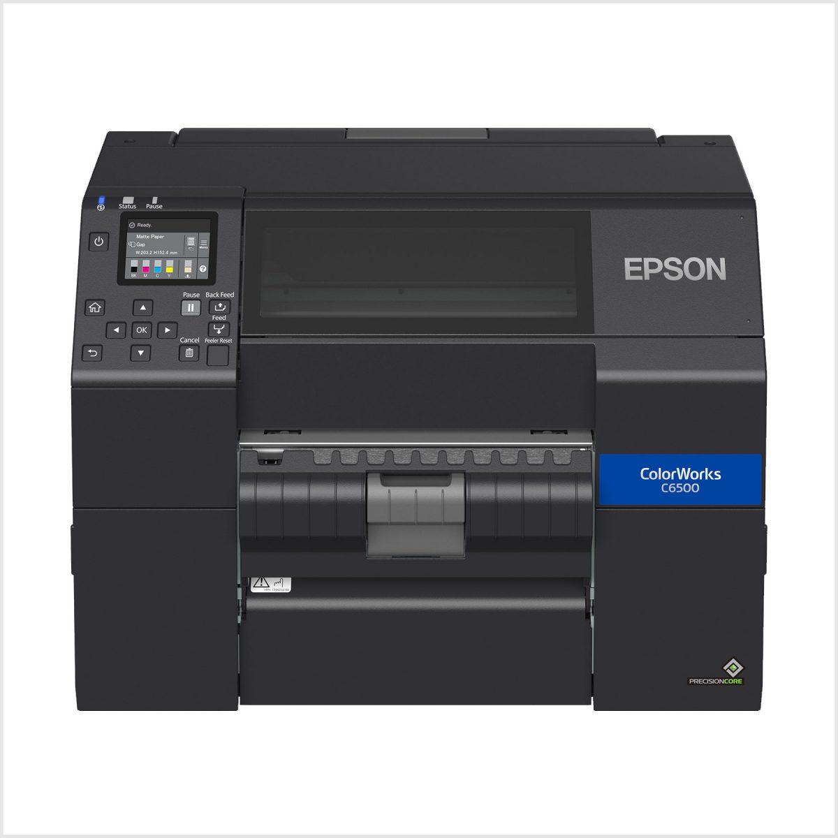 Epson Cw-C6500Pe Renkli Barkod Yazıcı Fiyatı