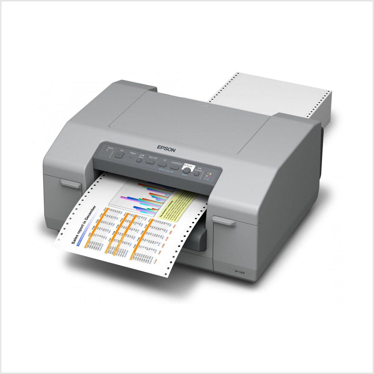 Epson Gp-C831 Renkli Barkod Yazıcı Fiyatı