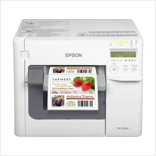 Epson Tm-C3500 Renkli Barkod Yazıcı Fiyatı