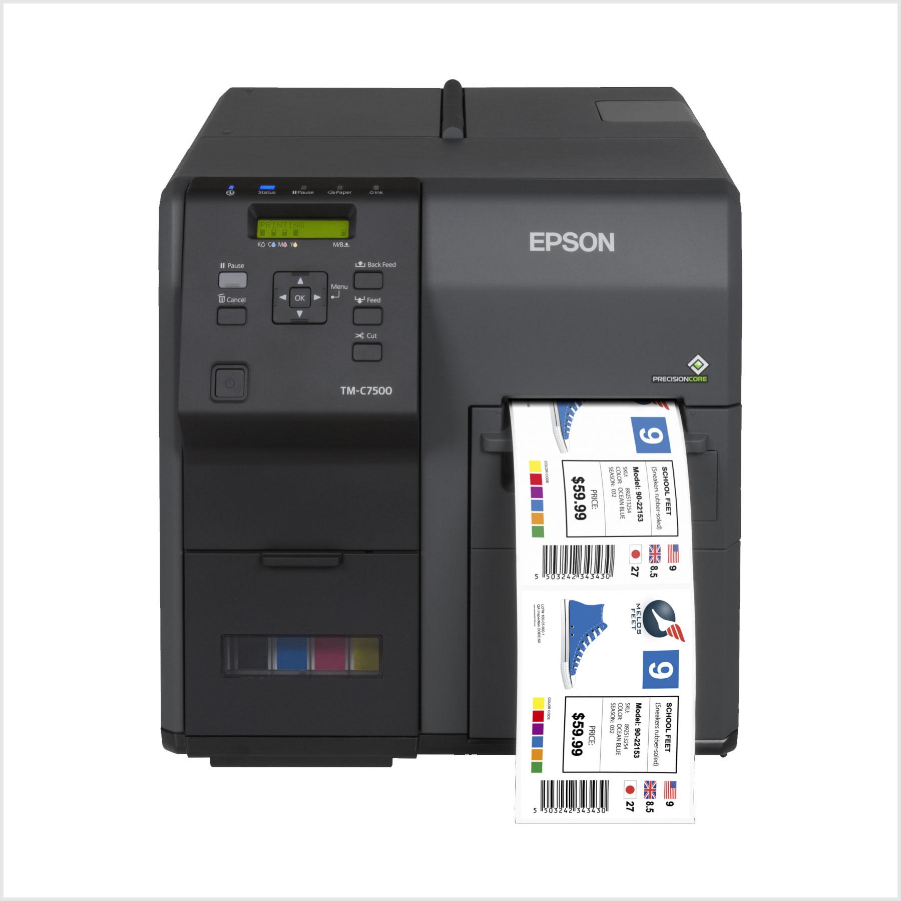 Epson Tm-C7500G Renkli Barkod Yazıcı Fiyatı